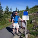 Greg at trailhead