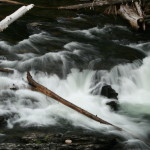 Falls at Rock Island Campground.