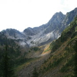 Trailing peaks off of Mount Lacrosse