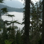 Switchback views above Dorothy Lake