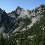 From the viewpoint near Gem Lake, towards Kaleetan Peak.