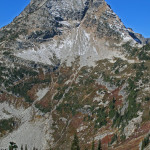Another view of Corteo Peak, rising above Maple Creek drainage