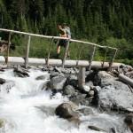 Crossing Fryingpan Creek