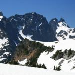 Summit Chief Mt. , with Chimney Rocks behind