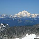 Glacier Peak, looking north from the Hinman Glacier.