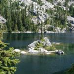 Rock Island in Tuck Lake