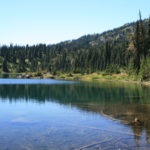 "The ""far side"" of Upper Lena Lake"