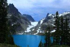 A parting shot of Jade Lake, taken by Greg