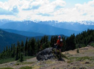 Klahhane Ridge views